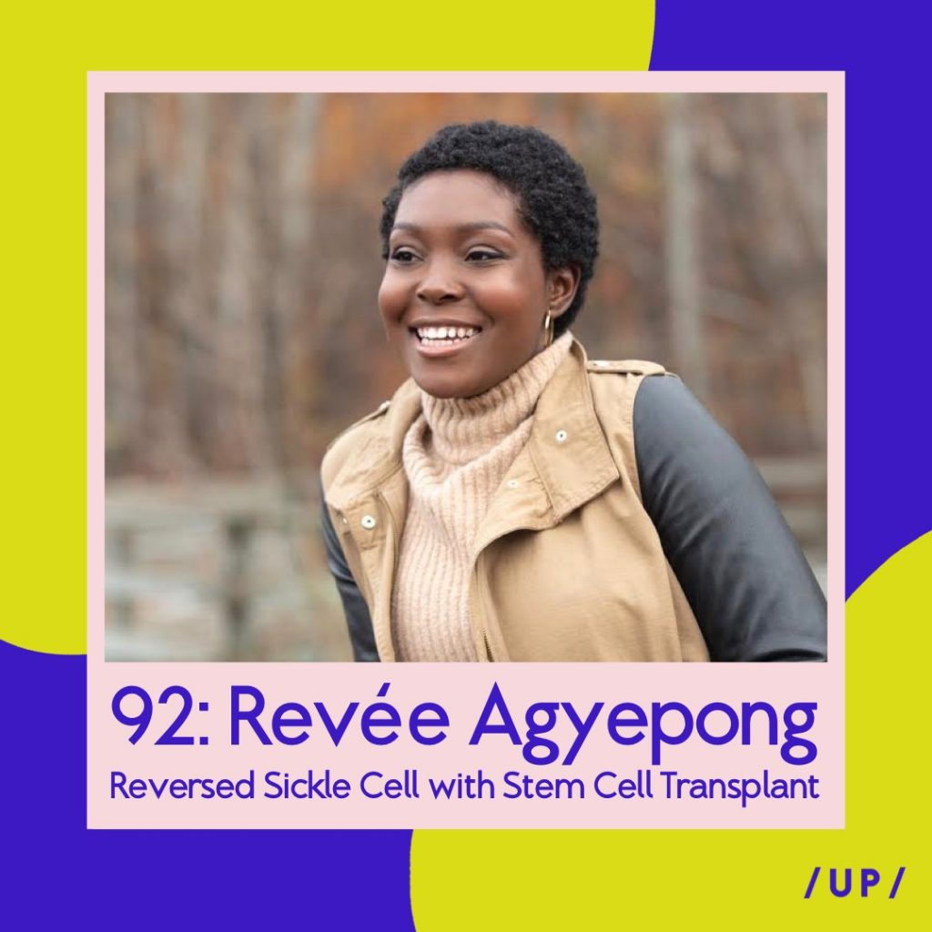 Revée Agyepong My Sickled Cells mysickledcells sickle cell stem cell transplant Alberta Edmonton Canada Uninvisible Pod