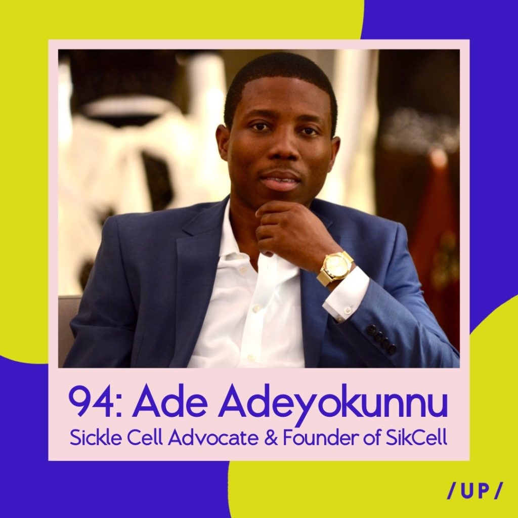 Ade Adeyokunnu SikCell Sickle Cell Uninvisible Pod