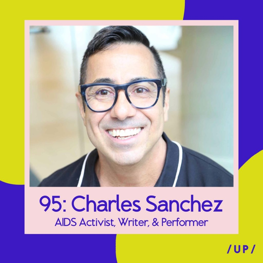 Charles Sanchez TheBody.com Merce The Series Uninvisible Pod / UP /
