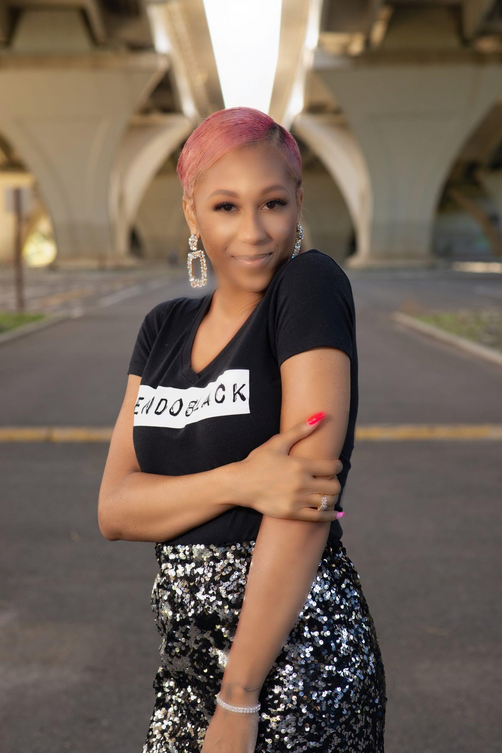 ENDO Black Lauren Kornegay Uninvisible Pod endometriosis