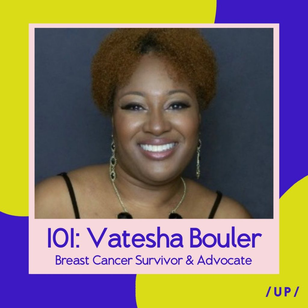 Vatesha Bouler Tesha Bouler Tesha's Tea Room Breast Cancer Survivor Patient Advocate Beyond Her Reflection Uninvisible Pod