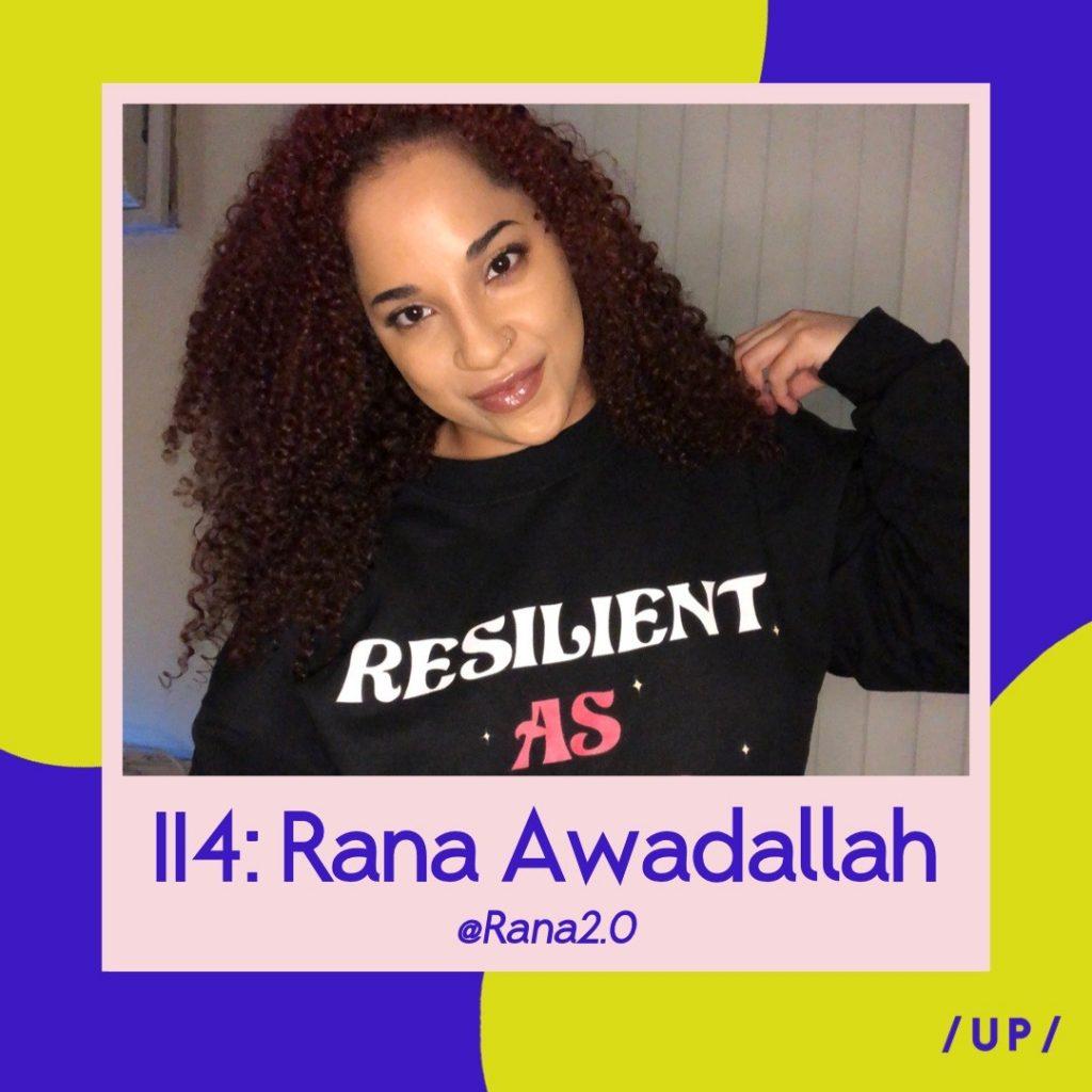 Rana2.0 Rana Awadallah Resilient As Fuck Resilient As F*ck artist disability Uninvisible Pod