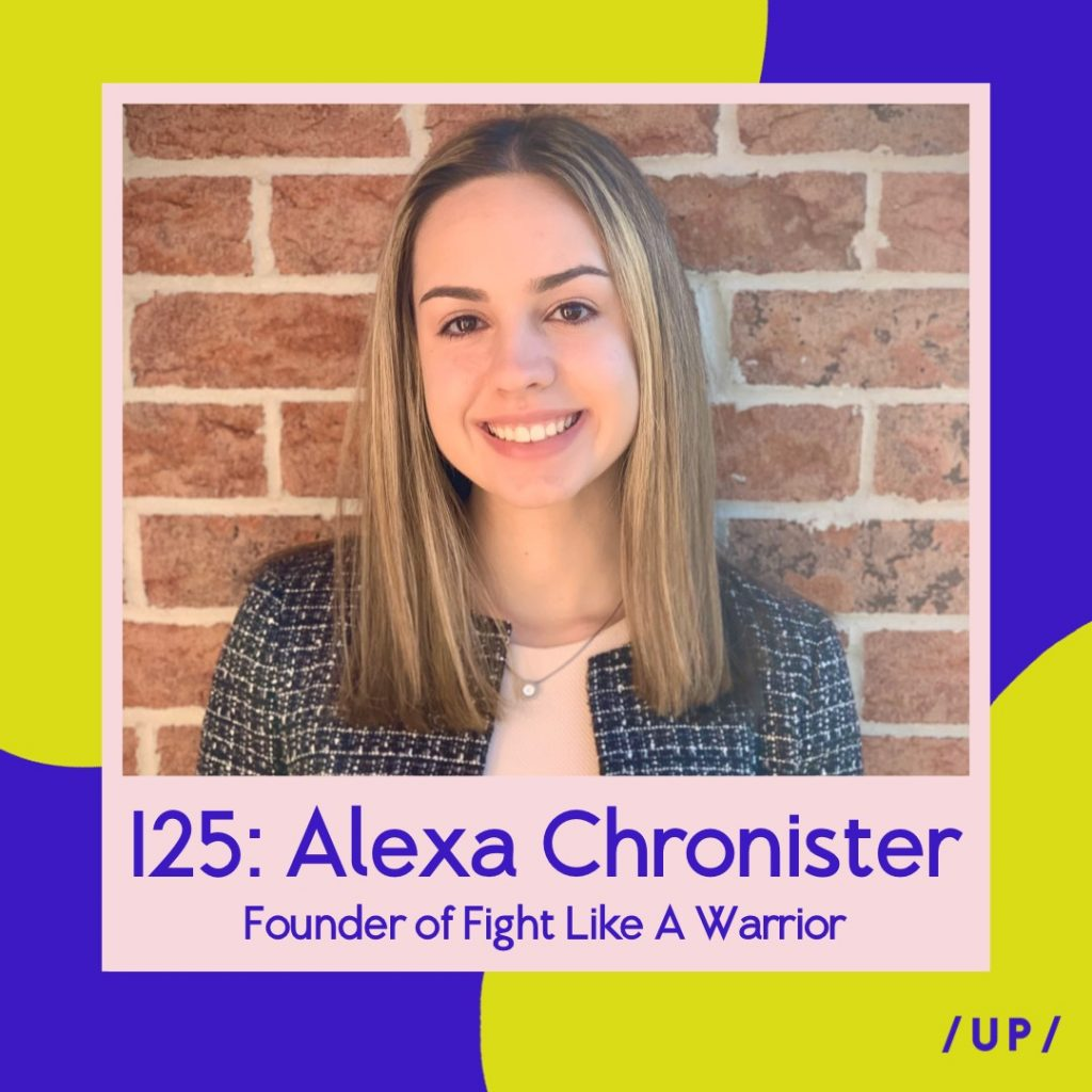 Alexa Chronister Fight Like A Warrior FLAW Cards For Warriors WEGO Health Awards Uninvisible Pod