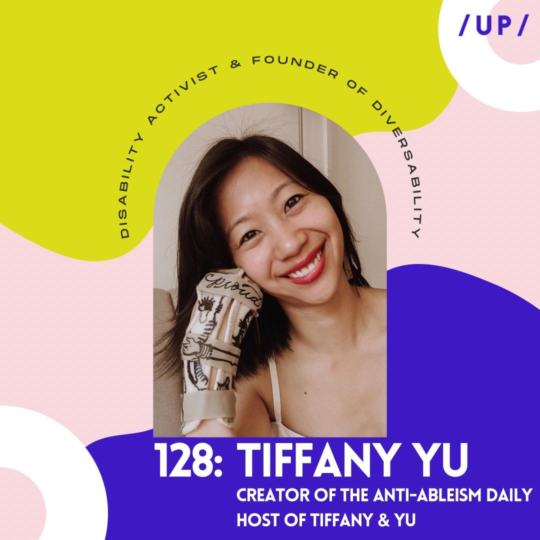 Tiffany Yu Diversability TEDx disability influencer TikTok Anti-Ableism Daily Tiffany & Yu Podcast Uninvisible Pod mental health